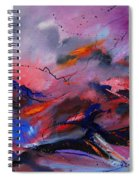 Abstract 971260 Spiral Notebook