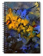 Abstract 972 Spiral Notebook