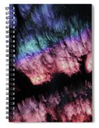 Abstract Accident Spiral Notebook