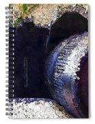 Abstract Analog Camera Spiral Notebook
