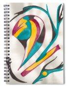 Abstract Art 105 Spiral Notebook