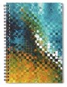 Abstract Art - Pieces 9 - Sharon Cummings Spiral Notebook