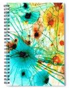Abstract Art - Possibilities - Sharon Cummings Spiral Notebook