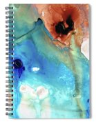 Abstract Art - The Journey Home - Sharon Cummings Spiral Notebook