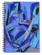 Abstract Art Twenty-four Spiral Notebook