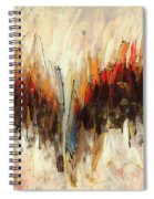 Abstract Art Twenty-one Spiral Notebook