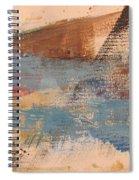 Abstract At Sea 2 Spiral Notebook