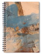 Abstract At Sea 4 Spiral Notebook
