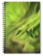 Abstract Aurora Spiral Notebook