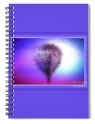 Abstract Balloon In Sky Spiral Notebook