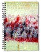 Abstract Banana Trunk 3 Spiral Notebook