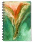 Abstract Bird Spiral Notebook