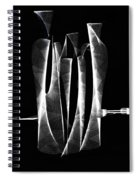Abstract Bottles  Spiral Notebook