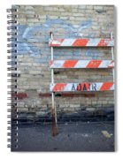 Abstract Brick 1 Spiral Notebook