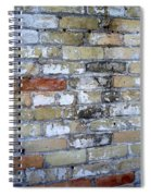 Abstract Brick 10 Spiral Notebook