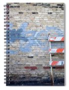 Abstract Brick 2 Spiral Notebook