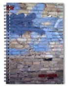 Abstract Brick 3 Spiral Notebook
