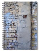 Abstract Brick 4 Spiral Notebook