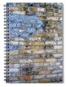Abstract Brick 6 Spiral Notebook