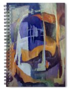 Abstract Bridges Spiral Notebook
