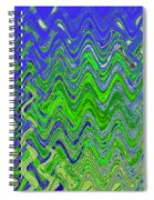Abstract By Photoshop 50 Spiral Notebook