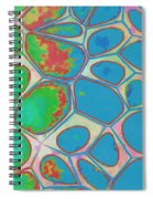 Abstract Cells 4 Spiral Notebook