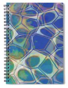 Abstract Cells 5 Spiral Notebook