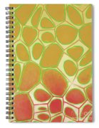 Abstract Cells 2 Spiral Notebook
