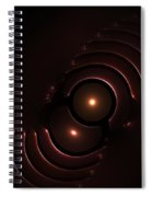 Abstract Chromeart Spiral Notebook