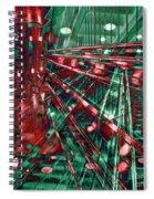 Red Berlin Sound Spiral Notebook