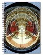 Abstract Classic Car Spiral Notebook