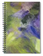 Abstract Close Up 1 Spiral Notebook