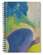 Abstract Close Up 12 Spiral Notebook
