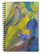 Abstract Close Up 2 Spiral Notebook