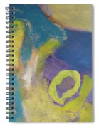 Abstract Close Up 4 Spiral Notebook