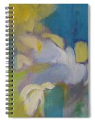 Abstract Close Up 7 Spiral Notebook