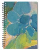 Abstract Close Up 9 Spiral Notebook