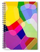 Abstract Collection 011 Spiral Notebook