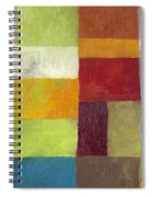 Abstract Color Study Lv Spiral Notebook