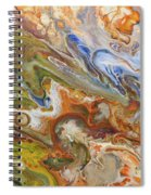 Abstract Colour Spiral Notebook