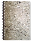 Abstract Concrete 12 Spiral Notebook