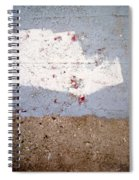 Abstract Concrete 13 Spiral Notebook