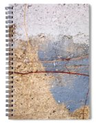 Abstract Concrete 15 Spiral Notebook