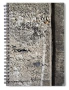 Abstract Concrete 16 Spiral Notebook