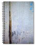 Abstract Concrete 19 Spiral Notebook