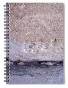 Abstract Concrete 4 Spiral Notebook