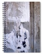 Abstract Concrete 6 Spiral Notebook