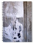 Abstract Concrete 9 Spiral Notebook