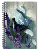 Abstract Construction Spiral Notebook