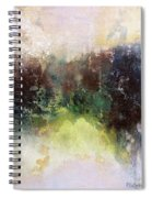 Abstract Contemporary Art Spiral Notebook